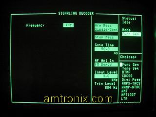 8924C decoder screen